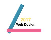 2017 website design project.