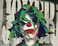Highschool Doodlidoos: Joker 2019