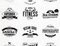 FREE: 12 Badges and Labels