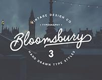 Bloomsbury - Typeface