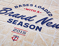 2015 Minnesota Twins Season Ticket Boxes