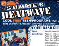 Summer Heatwave Teen Programs