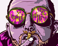 RIP Mac Miller Vector Portrait