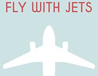 Retro Airline Poster