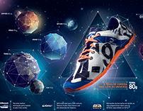Lançamento Tênis - Universe e Mondrian
