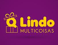 QLindo Multicoisas - Logo e Identidade Visual