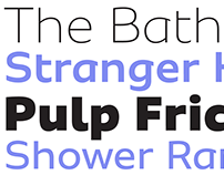 Sua – a handsome new font with a FREE weight