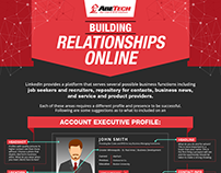 Building Relationships Online Infograph