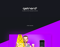 Getnord - Facebook & print banners campaign.