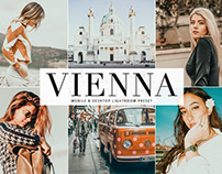 Free Vienna Mobile & Desktop Lightroom Preset