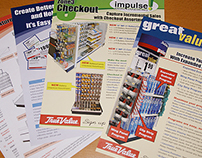 Print Collateral / Sell Sheets True Value Hardware