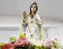 Missa em honra ao Dia do Sagrado Coração de Maria