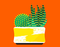 Cacti Club Art Prints
