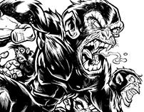 Barrel of Evil Monkeys