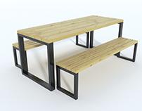 Garden Furniture Set - Zestaw Mebli Ogrodowych