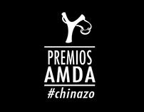 Creación de contenidos Premios AMDA (Proyecto personal)