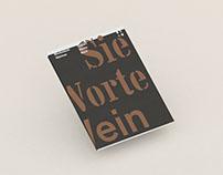 Werkstück Weimar: Sieben Worte Wein