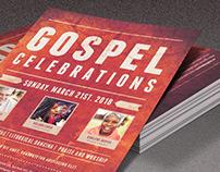 Gospel Celebrations Church Flyer