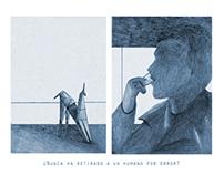 Deckard Fanzine - homenaje a Blade Runner - pencil