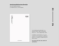 Animated Poster Series #minimaladventscalendar