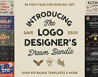 The Logo Designer's Dream Bundle - $500 Off!