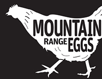 Mountain Range Eggs brand and packaging
