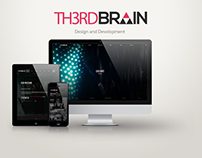 Th3rd Brain Company Website