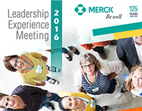 Evento Leadership Experience Meeting MERCK