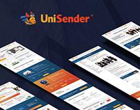 UniSender redesign
