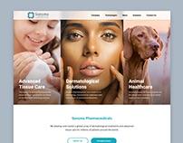 Концепция дизайна сайта Sonoma Pharmaceuticals