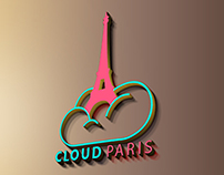 Cloud Paris Logo Mockup - Download Now