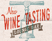 Wine Tasting Lounge Bar - Flyer/Poster