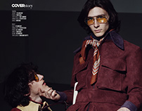 """""""Only brothers left alive"""" editorial for PERIOD mag"""