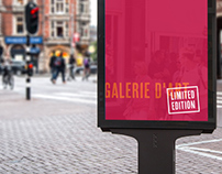 Limited Edition - Galerie d'Art - identity & e-shop