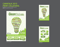 CannTalk 2015 Logo, Poster and Flyer Design