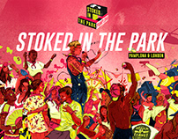 Stoked in the Park, Promo Illustration