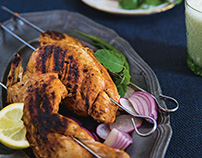 Fire up the barbecue for chicken tikka, Karachi-style