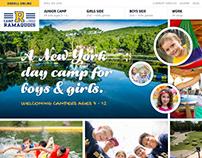 Camp Ramaquois Website Redesign