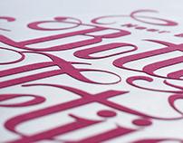 Winhall & De Stadler Jewellers, Typographic Posters