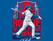 "Kris Bryant ""Rookie of the Year"""