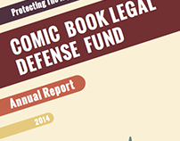 CBLDF Donation Mailer & 2014 Annual Report