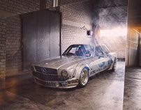 Mercedes AMG 450 SLC Mampe