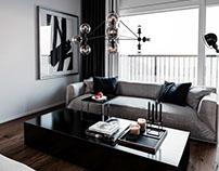 Small Apartment CGI