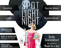 Spot Light Night - Poster