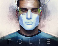 POLIS - Sci-Fi Short Film Poster