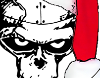 Iron Order Santa Toy Donation Poster