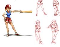 = Baseball girl =