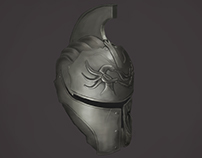 Helm from Dark Souls II (Complete)