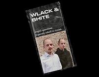 WLACK & BHITE