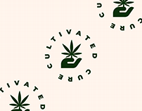 Cultivated Cure Branding